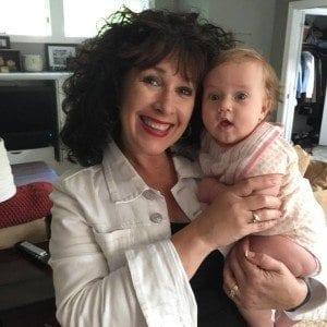 Grandma Terrie with Clara
