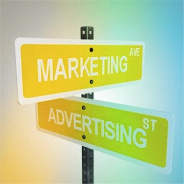 corner of marketing and advertising