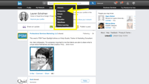 how to add admin on linkedin