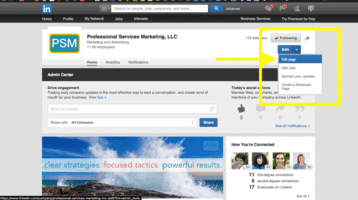 LinkedIn How-To:  Add an Administrator to Your Company Page