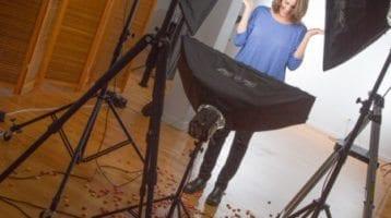 Irreverent Toni Halleen Turned Up the Spunk on the Studio Floor