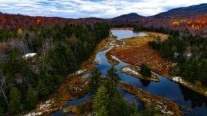 Stream Canada River Fall Landscape Scenic Autumn
