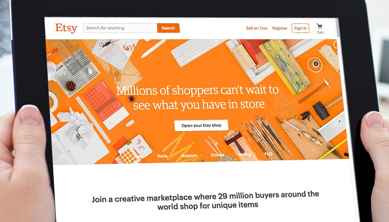 Etsy Website Developers | PSM Marketing | E-Commerce